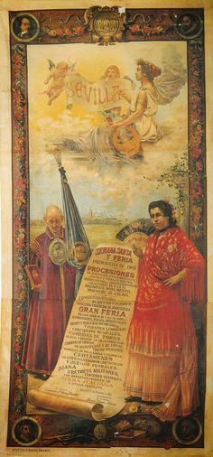 Fiestas primaverales Sevilla,1901 Autor: José Rico Cejudo