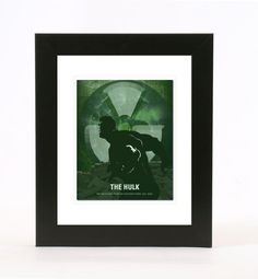 the hulk 8x10 poster wall art print by redlimeart on Etsy, $18.00
