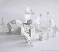 New York City Paper Model by Terada Mokei