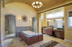 A luxurious master bath created by Weston Design of South Burlington, VT.