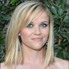 The Polished Lob - Celebrity Hair Inspiration: The Best Medium Hairstyles and Short Hairstyles for Women - Shape Magazine