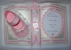 Fancy Fold Cards, Folded Cards, Baby Cards, Christening, Cardmaking, Embellishments, Projects To Try, Scrapbook, Colours
