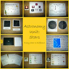 Every Star Is Different: Astronomy Unit: Stars