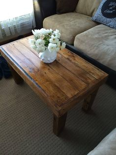 Pallet Coffee Table - 100% Pallets | 101 Pallet Ideas