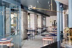 Bocadillo de jamón y champán es un innovador restaurante en Madrid.   Galería de fotos 1 de 7   AD MX