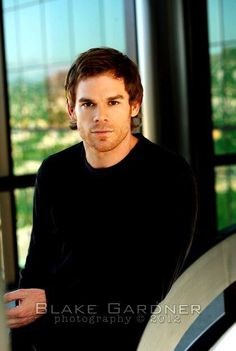 I love  this guy!!! Oh Dexter Morgan  Michael C. Hall