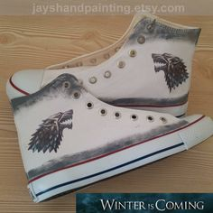 Stark Custom Converse Shoes