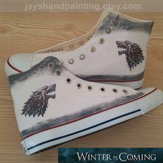 Stark Custom Converse Shoes