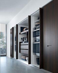 Kyton kitchen by Varenna (Poliform )