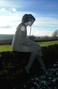 Derek Kinzett, 1966 ~ Wire sculptor   Tutt'Art@   Pittura * Scultura * Poesia * Musica  