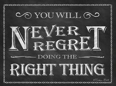 'Never Regret' Canvas Wall Art