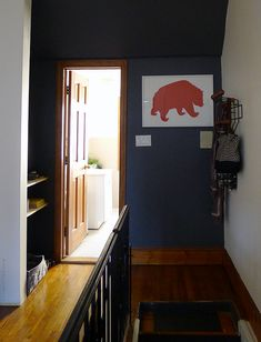 Door Sixteen: turning dead space into a functional entryway.
