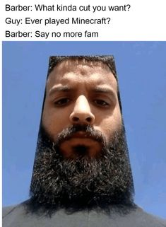 Some of us are terrified of getting our hair cut while others... #Memes #SayNoMore #Hair #Hairstyles #HaircutIdeas