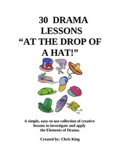 If you are in need of weekly drama lessons from 30 to 40 minutes in length, this is the collection for you!
