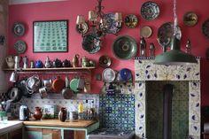 blue faience kitchen - Căutare Google