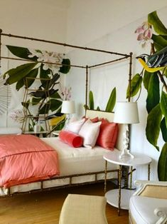 8 Intense Tropical Bedroom Designs | Discover more: http://masterbedroomideas.eu/