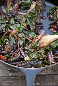 Clean Eating Cranberry Rainbow Chard From www.TheGraciousPantry.com
