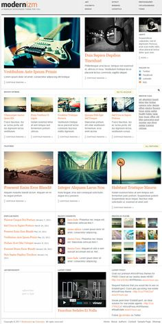professional magazine style premium WordPress theme from ColorLabs - wordpress - www.eewee.fr