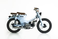 "Lsr Bikes: Honda ""The Little Blue"" by Deus Ex Machina Honda Cub, C90 Honda, Motos Honda, Honda Motorcycles, Custom Motorcycles, Custom Bikes, Custom Cars, Vintage Motorcycles, Deus Ex Machina"