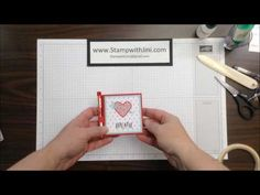 Stamp with Jini SEALED WITH LOVE POST IT NOTE & PEN HOLDER by Jini Merck - YouTube