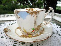 Vintage Teacup Tea Cup and Saucer Paragon by Holliezhobbiez, $25.00