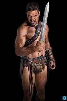 Photo - Crixus actor Manu Bennett in Spartacus - Final Season