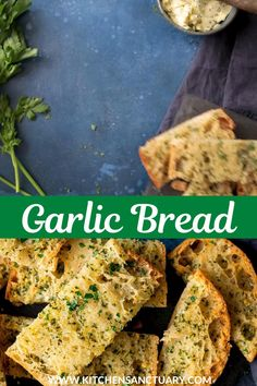 My homemade garlic bread is golden and crispy with plenty of garlic butter. I love that slightly salty, warm buttery taste! #garlicbread #garlicbreadrecipe #garlicbreadwithslicedbread #garlicbreadrecipehomemade #garlicbreadsticks #garlicbreadrecipeeasy Bacon Pasta Bake, Chicken Bacon Pasta, Pasta Recipes, Bread Recipes, Perfect Pasta Recipe, Savoury Bakes, Homemade Garlic Bread, Pasta Side Dishes, Cooking For A Crowd