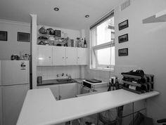 Nicholas Gurney Darlinghurst studio before Bedsit, Mighty Mouse, Apartment Renovation, Double Vanity, Kitchen Cabinets, Interior Design, Interiors, Studio, Home Decor