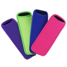 Popsicle mold sleeves
