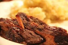 Dinner Tonight: Brisket in the slow cooker with smashed potatoes
