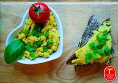 Pasta bezjajeczna z ciecierzycy Guacamole, Gluten, Mexican, Eggs, Ethnic Recipes, Food, Essen, Egg, Meals