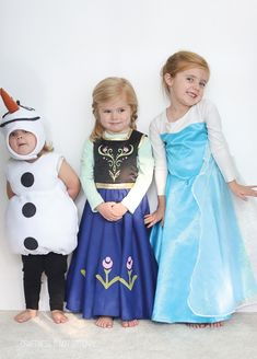The CUTEST Frozen costumes!