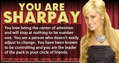 Which High School Musical Character Are You? - Sharpay i know it!