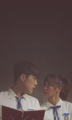 School2017 Kdrama, Kdrama Actors, K Drama, Drama Fever, Kim Sejeong, Kim Jung, Korean Couple, Best Couple, Drama Korea