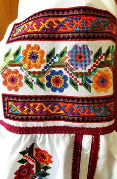Russian Cross Stitch, Cross Stitch Borders, Cross Stitch Rose, Cross Stitch Flowers, Cross Stitch Designs, Cross Stitching, Russian Embroidery, Basic Embroidery Stitches, Embroidery Hoop Art