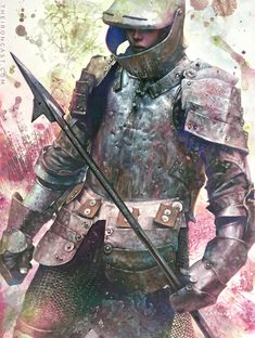 The Iron Cast is a collection of medieval knight and armor paintings by fantasy artist Chris Casciano Female Armor, Unsung Hero, Fire Art, Medieval Knight, Chivalry, Dark Souls, Dark Fantasy, Larp, Female Characters