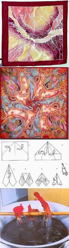 Искусство росписи по шелку (для начинающих)