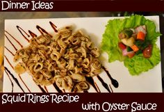 Squid Rings Recipe with Oyster Sauce + Video Tutorial