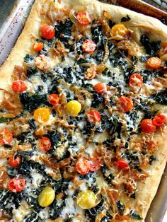 pizza with kale