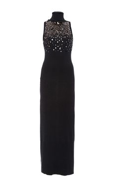 Embellished Lightweight Cashmere Dress by SALLY LAPOINTE for Preorder on Moda Operandi