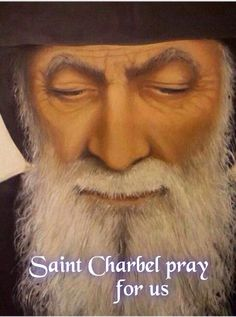 Relieved when I speak with you Catholic Religion, Catholic Saints, Patron Saints, St Charbel, Art Through The Ages, Way To Heaven, Religious Pictures, Mary And Jesus, Byzantine Art