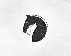 logo for horse stables & dog training center