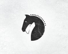 logo for horse stables & dog training center