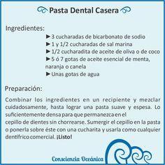 Cómo hacer pasta dental casera