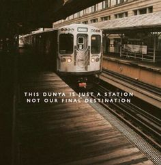 #Akhirah - Our final destination