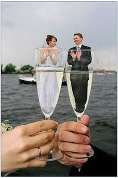 The most awkward wedding photos of all time