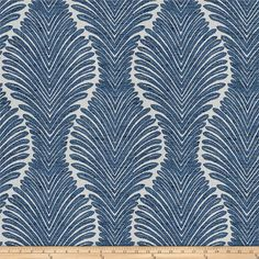 RM Coco Suite Fern Grotto Fabric Color: Denim - My Ideas & Suggestions Upholstery Repair, Upholstery Foam, Furniture Upholstery, Upholstery Cleaning, Living Room Upholstery, Upholstery Cushions, Design Textile, Fabric Design, Drapery Fabric