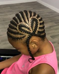 hairstyles crochet Black Girl Hairstyles For Kids Black blackhairstylesforkids blackhairstylesrelaxed crochet Hairstyles Toddler Braided Hairstyles, Little Girl Braid Hairstyles, Black Kids Hairstyles, Little Girl Braids, Natural Hairstyles For Kids, Baby Girl Hairstyles, Braids For Kids, Natural Hair Braids, Natural Hair Styles