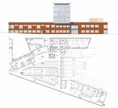 Sveriges Arkitekter - Sahlgrenska sjukhuset - Ny försörjningsbyggnad Healthcare Architecture, Health Care, Presentation, Floor Plans, Board, Floor Plan Drawing, Planks, House Floor Plans, Health