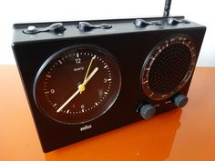 Braun Design Clock Radio ABR 21 Uhrenradio Wecker RARE 4826 Top | eBay